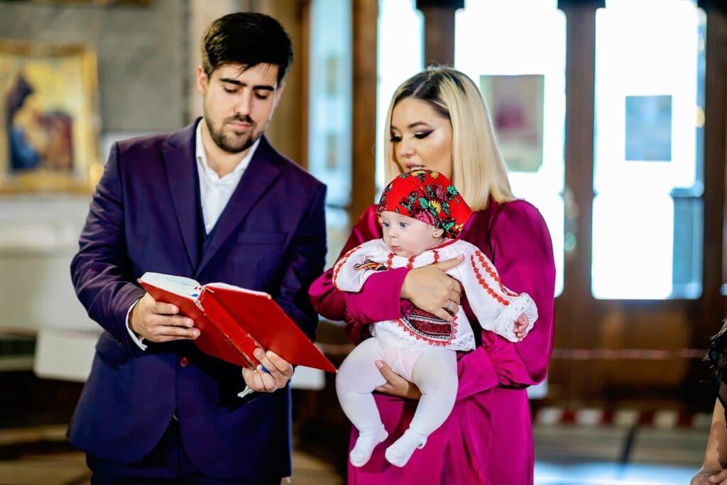 Fotografii de botez - Biserica Casin